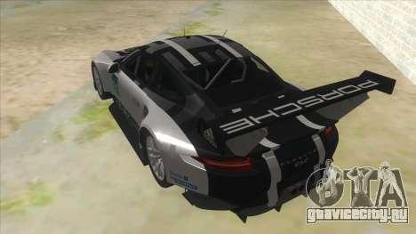2016 Porsche 911 RSR для GTA San Andreas вид сзади слева
