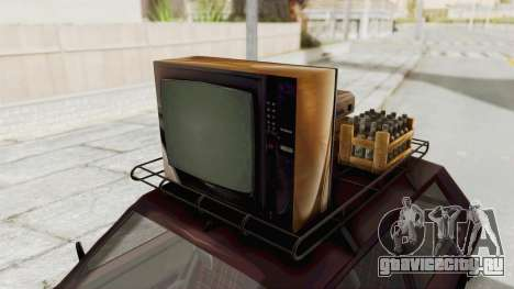 Zastava Yugo Koral 55 для GTA San Andreas вид сзади