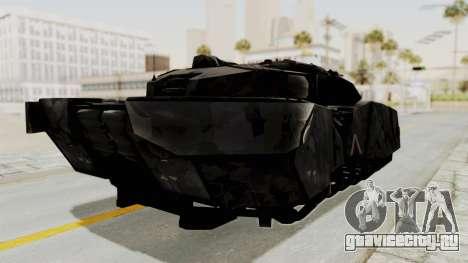 T-470 Hover Tank для GTA San Andreas вид справа