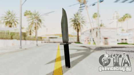 Liberty City Stories - Knife для GTA San Andreas