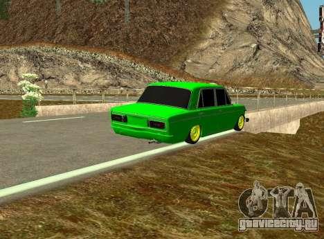 ВАЗ 2106 Шаха для GTA San Andreas вид справа