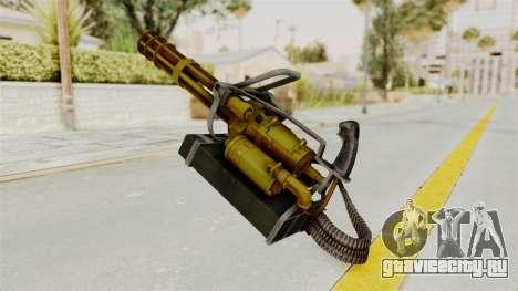 Minigun Gold для GTA San Andreas второй скриншот