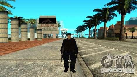 Police SWAT Skin for GTA San Andreas для GTA San Andreas