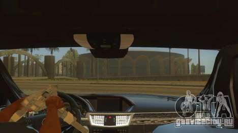 Mercedes Benz E250 Makam Aracı для GTA San Andreas вид изнутри