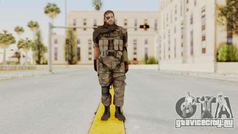 MGSV The Phantom Pain Venom Snake Scarf v9 для GTA San Andreas второй скриншот