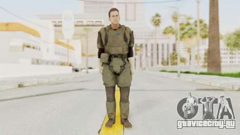 MGSV Ground Zeroes MSF Medic для GTA San Andreas второй скриншот