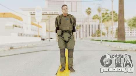 MGSV Ground Zeroes MSF Medic для GTA San Andreas второй скриншот