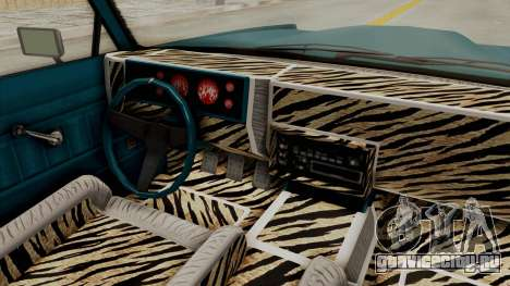 GTA 5 Dundreary Virgo Classic Custom v3 IVF для GTA San Andreas вид изнутри