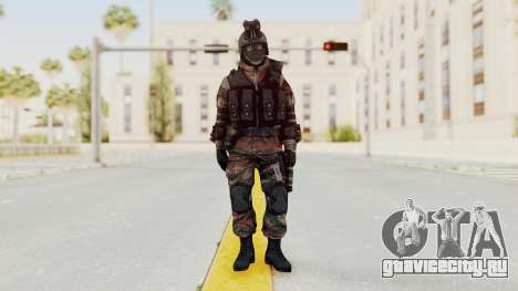 Battery Online Russian Soldier 5 v1 для GTA San Andreas второй скриншот