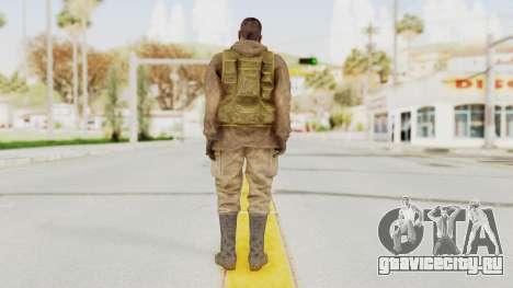 MGSV The Phantom Pain Soviet Union Sniper для GTA San Andreas третий скриншот
