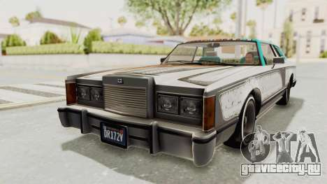 GTA 5 Dundreary Virgo Classic Custom v2 для GTA San Andreas вид снизу
