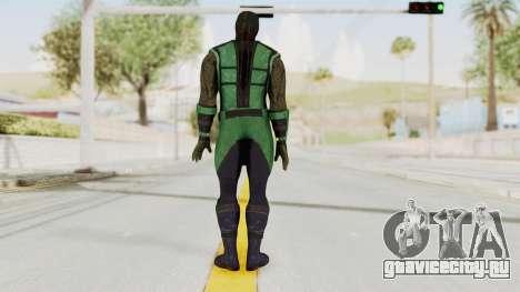 Mortal Kombat X Klassic Reptile для GTA San Andreas третий скриншот