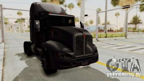 Kenworth T660 Sleeper для GTA San Andreas вид справа
