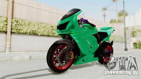 Kawasaki Ninja 250R Race для GTA San Andreas