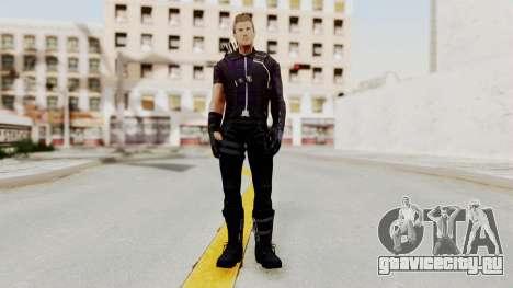 Captain America Civil War - Hawkeye для GTA San Andreas второй скриншот