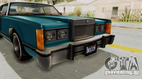 GTA 5 Dundreary Virgo Classic Custom v3 IVF для GTA San Andreas вид сверху