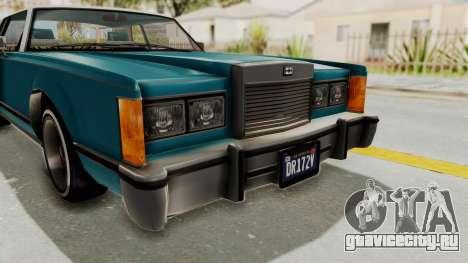 GTA 5 Dundreary Virgo Classic Custom v3 IVF для GTA San Andreas вид сверху