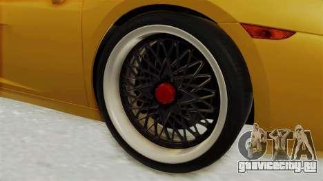 Lamborghini Gallardo 2005 для GTA San Andreas вид сзади
