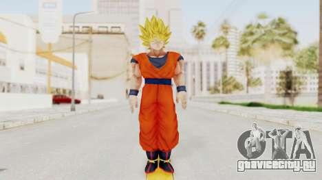 Dragon Ball Xenoverse Goku SSJ1 для GTA San Andreas второй скриншот
