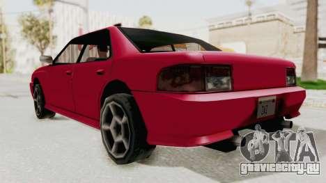 Kartin Sultan RS для GTA San Andreas вид справа