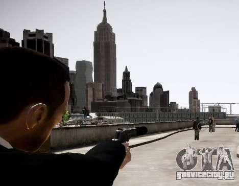 Глушитель на оружие для GTA 4 второй скриншот