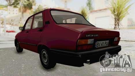 Dacia 1310L 1997 для GTA San Andreas вид сзади слева