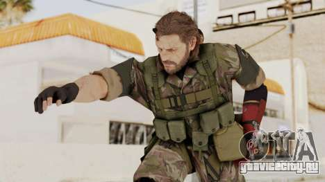 MGSV The Phantom Pain Venom Snake No Eyepatch v6 для GTA San Andreas