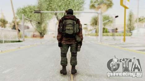 Battery Online Russian Soldier 8 v2 для GTA San Andreas третий скриншот