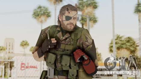 MGSV The Phantom Pain Venom Snake Woodland для GTA San Andreas