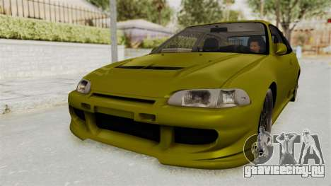 Honda Civic Fast and Furious для GTA San Andreas