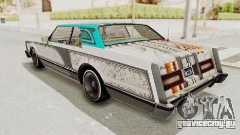 GTA 5 Dundreary Virgo Classic Custom v2 для GTA San Andreas салон