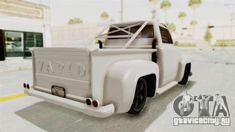 GTA 5 Slamvan Race для GTA San Andreas вид сзади слева