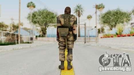MGSV The Phantom Pain Venom Snake No Eyepatch v2 для GTA San Andreas третий скриншот