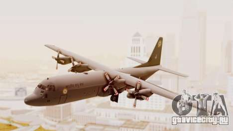 C130 Hercules Indian Air Force для GTA San Andreas вид сзади слева
