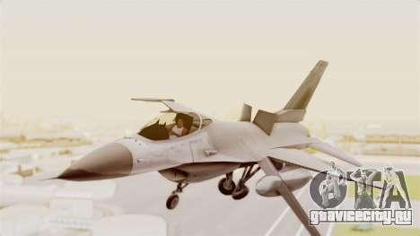 F-16 Fighting Falcon для GTA San Andreas