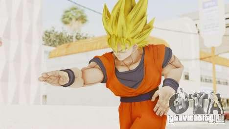 Dragon Ball Xenoverse Goku SSJ1 для GTA San Andreas