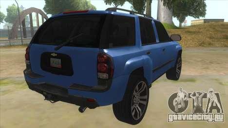 Chevrolet TrailBlazer для GTA San Andreas вид справа