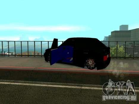 VAZ 2114 KBR для GTA San Andreas вид сзади