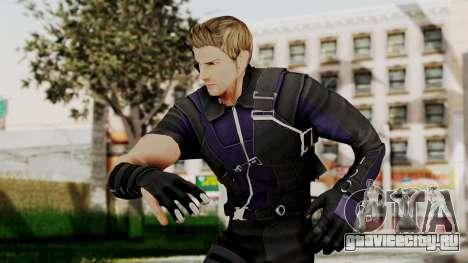 Captain America Civil War - Hawkeye для GTA San Andreas