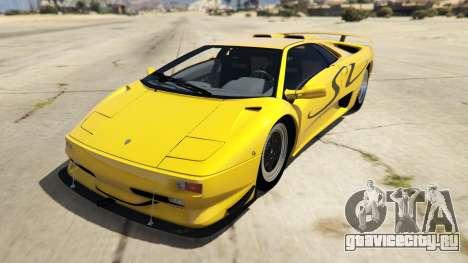 Lamborghini Diablo SV 1997 для GTA 5