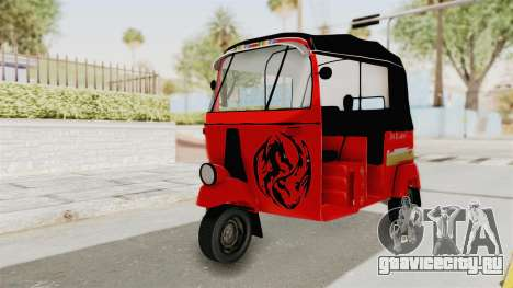 Sri Lanka Three Wheeler Taxi для GTA San Andreas