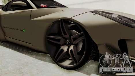 Jaguar F-Type L3D Store Edition для GTA San Andreas вид сзади