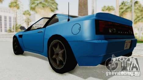 Annis Euros 3.0Z Turbo 1992 для GTA San Andreas вид справа
