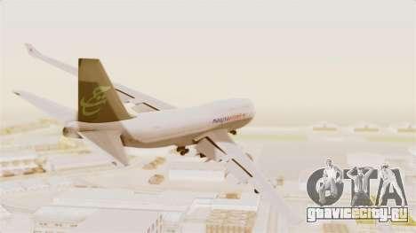 Boeing 747-400 Malaysia Airlines Tabung Haji для GTA San Andreas вид справа