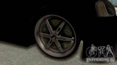 Dacia Logan Loco Tuning для GTA San Andreas вид сзади