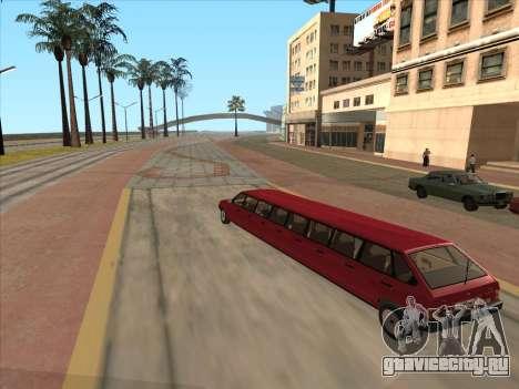 VAZ 2109 17-door для GTA San Andreas вид справа
