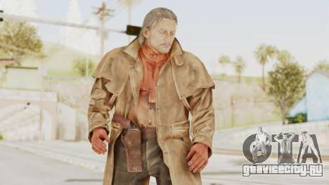 MGSV Phantom Pain Ocelot Prologue v2 для GTA San Andreas