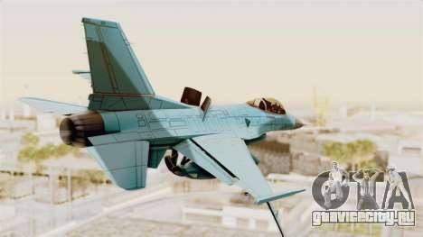 F-16 Fighting Falcon Civilian для GTA San Andreas вид слева