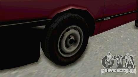 Dacia 1310L 1997 для GTA San Andreas вид сзади
