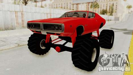 Dodge Charger 1971 Monster Truck для GTA San Andreas